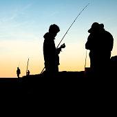 Sydney rock fishing - getting ready