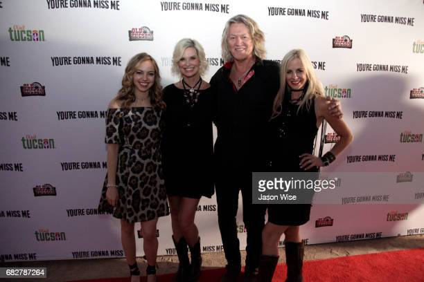 Sydney Scotia Allison Shult William Shockley and Tiiu Loigu attend 'You're Gonna Miss Me' premiere sponsored by Visit Tucson on May 13 2017 in Tucson...