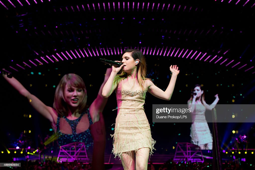 Sydney Sierota performs during Taylor Siwft The 1989 World Tour at Nationwide Arena on September 18, 2015 in Columbus, Ohio.