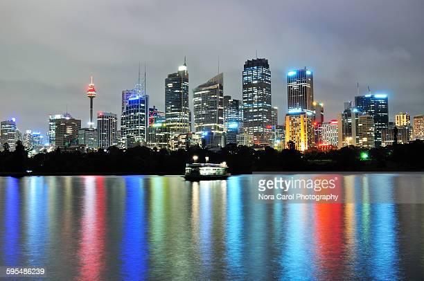 Sydney skyline and reflection