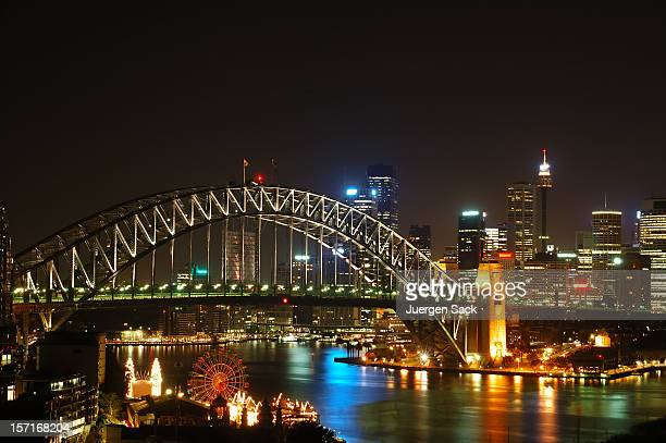 Sydney Skyline at night