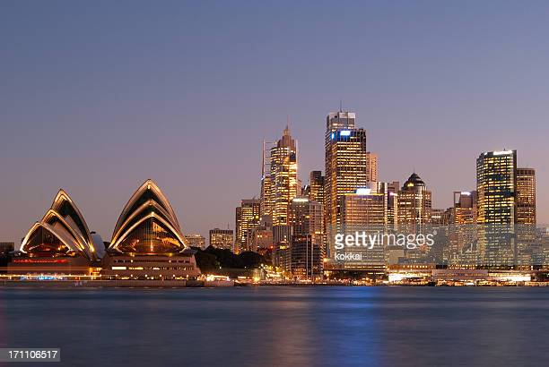 Sydney Skyline - Kirribilli (Purple #1)