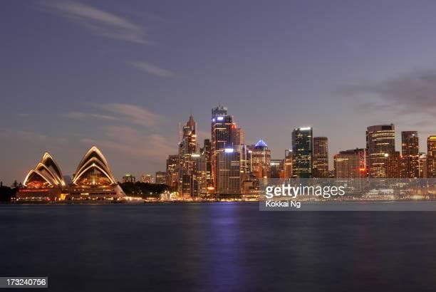Sydney Skyline - Kirribilli (Purple #2)