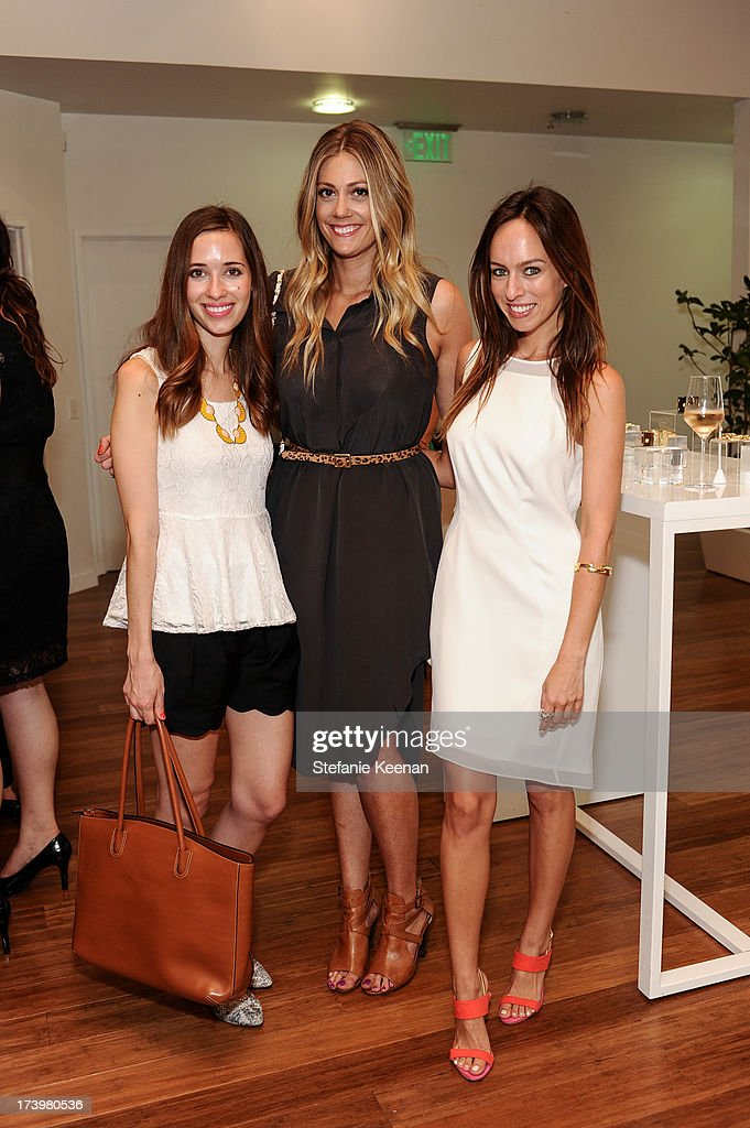 Sydney Summer, Mara Ferreira and Devin Rachel attend JewelMint Celebrates The Launch Of Collective And Previews New Collections From Cher Coulter And CC Skye at on July 18, 2013 in Los Angeles, California.