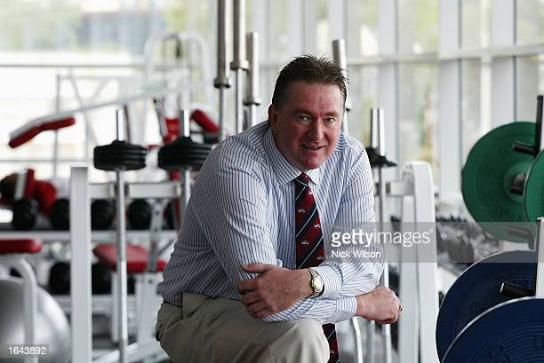 Sydney Swans Football Manager Andrew Ireland poses for the camera in the new Basil Sellers Centre at the Sydney Cricket Ground in Sydney Australia on...