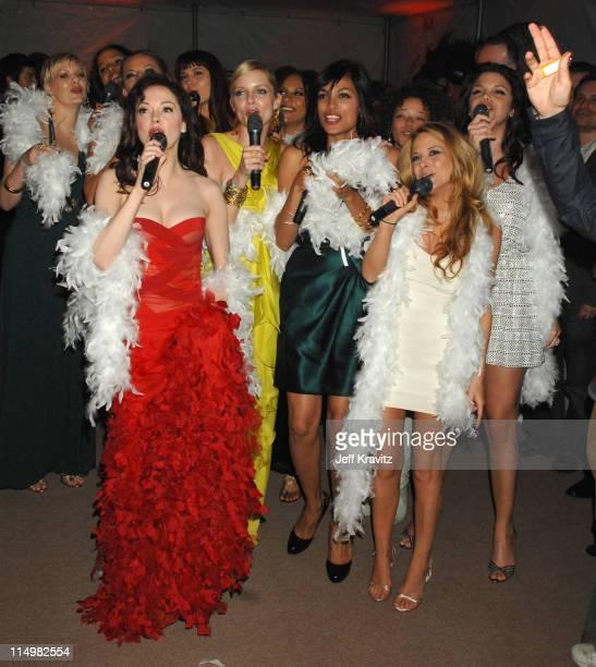 Sydney Tamiia Poitier Zoe Bell Rose McGowan Mary Elizabeth Winstead Marley Shelton Rosario Dawson Jordan Ladd Vanessa Ferlito and guests