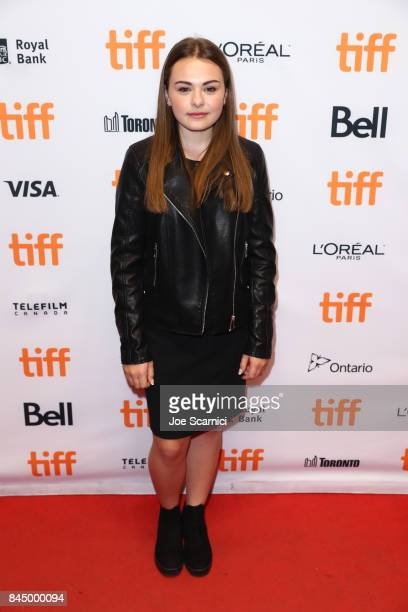 Sydney Wade attends the 'I Kill Giants' premiere during the 2017 Toronto International Film Festival at TIFF Bell Lightbox on September 9 2017 in...
