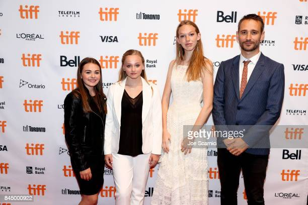 Sydney Wade Madison Wolfe Rory Jackson and Anders Walter attend the 'I Kill Giants' premiere during the 2017 Toronto International Film Festival at...