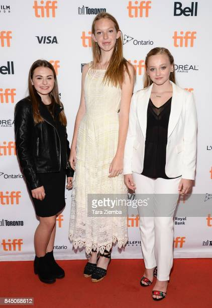 Sydney Wade Rory Jackson and Madison Wolfe attend the 'I Kill Giants' premiere during the 2017 Toronto International Film Festival at TIFF Bell...