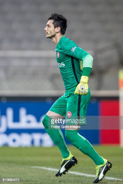 Sydney Wanderers Goalkeeper Vedran Janjetovic in action during the AFC Champions League 2017 Group F match between FC Seoul vs Western Sydney...