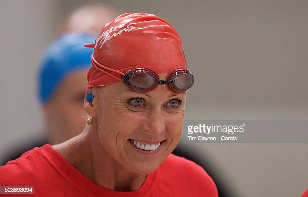 Legend swimmer Lisa CurryKenny during the Skins meet directly after the Australian Swimming Championships and Selection Trials for the XIII Fina...