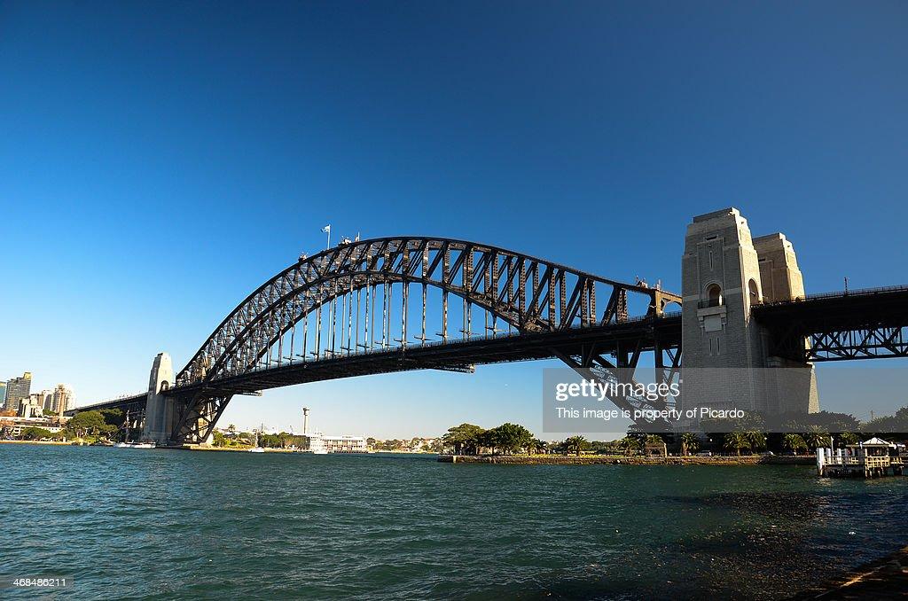 Sydney's Habour Bridge from Kirribilli