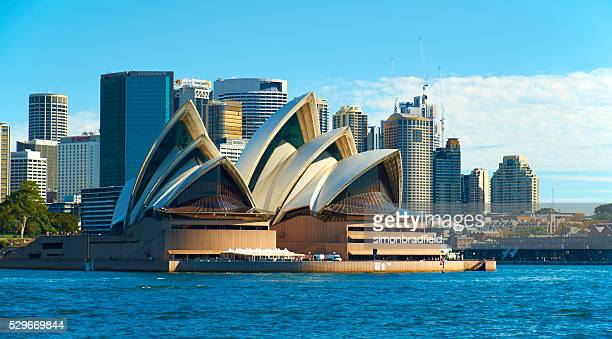 Sydney's Opera House And City Skyline