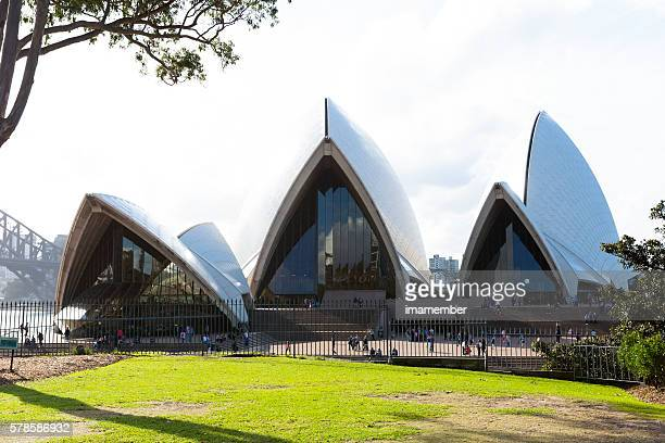 Sydney's Opera House view from Botanical Garden