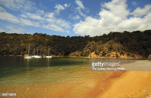 Sydney's secret beaches The Basin at Pittwater 15 December 2005 SMH Picture by STEPHEN BACCON
