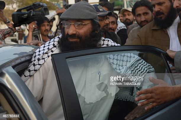 Syed Salahuddin chairman of the 16party United Jihad Council who is also supreme commander of the hardline Hizbul Mujahedin group leaves after...