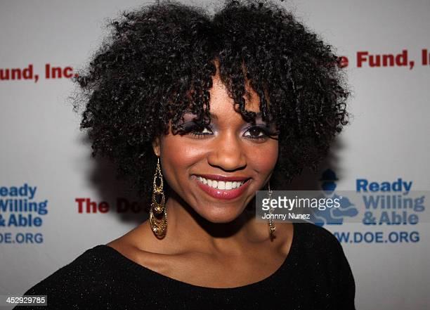 Syesha Mercado attends Gospel Uptown on December 7 2009 in New York City