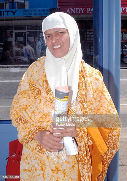 Syfun Nahar in Lakemba Sydney 28 October 2006 SHD Picture by ADAM HOLLINGWORTH