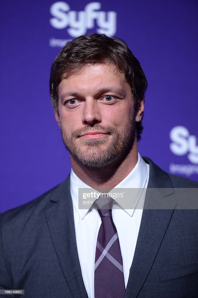 Syfy Upfront at Silver Screen Studios in New York City' -- Pictured: Adam Copeland --