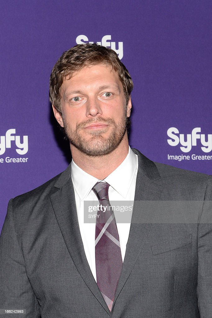 EVENTS -- '2013 Syfy Upfront at Silver Screen Studios in New York City' -- Pictured: Adam Copeland --