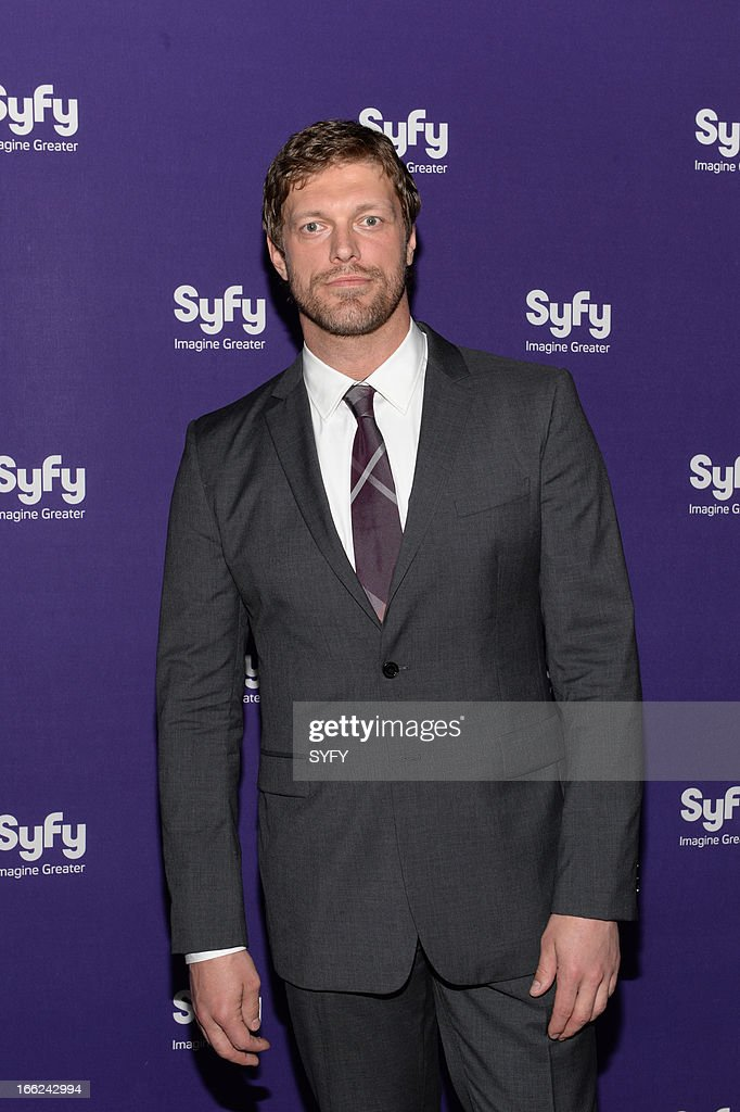 EVENTS -- '2013 Syfy Upfront at Silver Screen Studios in New York City' -- Pictured: Adam Copeland--