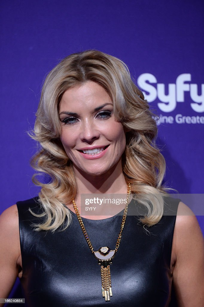 Syfy Upfront at Silver Screen Studios in New York City' -- Pictured: McKenzie Westmore --