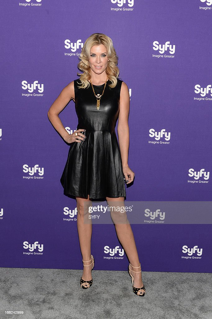 EVENTS -- '2013 Syfy Upfront at Silver Screen Studios in New York City' -- Pictured: McKenzie Westmore --