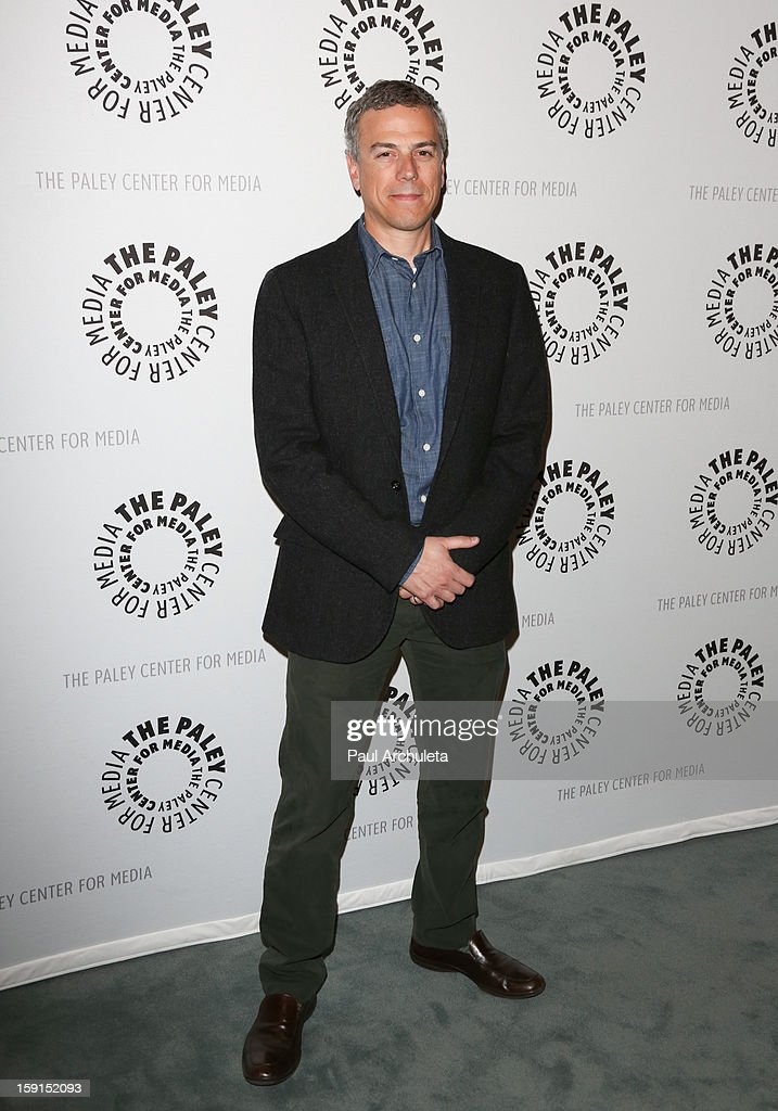 SyFyÕs President of Original Programming Mark Stern attends the premiere screening and panel discussion of Syfy's 'Being Human' season 3 at The Paley Center for Media on January 8, 2013 in Beverly Hills, California.