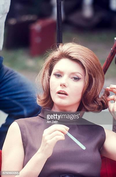Sylva Koscina closeup circa 1970 New York