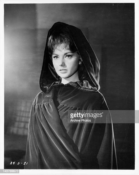 Sylva Koscina in her portrayal as the aristocratic Orietta in a scene from the film 'Swordsman of Siena' 1962