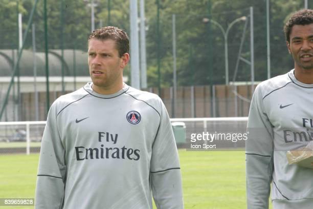 Sylvain ARMAND Reprise entrainement du PSG Camp des Loges Saison 2007/2008