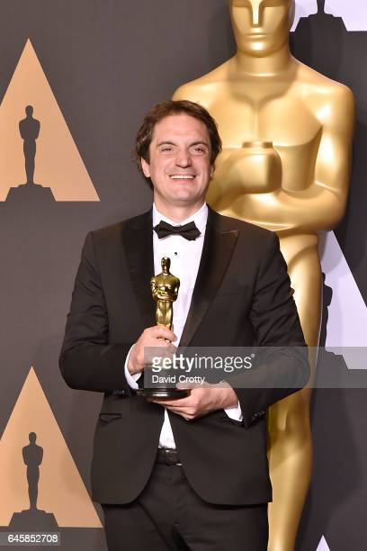 Sylvain Bellemare attends the 89th Annual Academy Awards Press Room at Hollywood Highland Center on February 26 2017 in Hollywood California