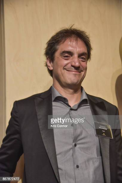 Sylvain Bellemare attends 'The Academy of Motion Picture Arts Sciences Hosts the 2017 New Members Party' at NeueHouse Madison Square on October 2...