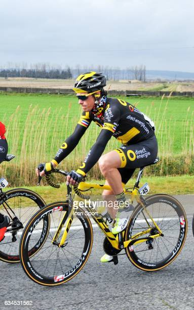 Sylvain Chavanel of Direct Energie during the stage 1 of the Etoile of Besseges on February 1 2017 in Beaucaire France