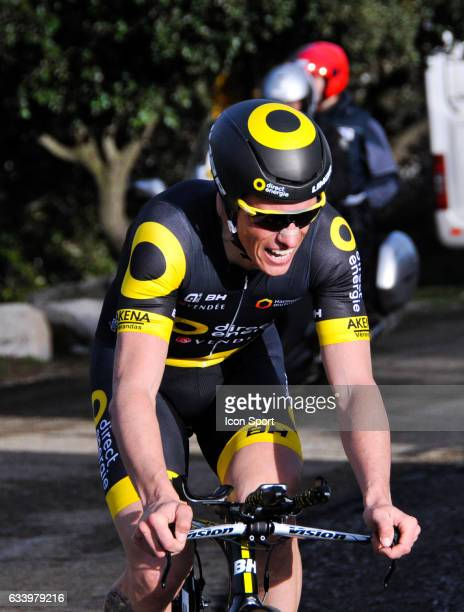 Sylvain Chavanel of Direct Energie during the stage 5 of the Etoile of Besseges from Ales to Ales on February 5th 2017 in Ales France