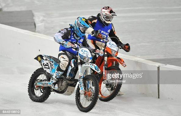 Sylvain DABERT / Maxime EMERY Trophe Andros 2011 Finale Pilot Bike Stade de France Photo Dave Winter / Icon Sport