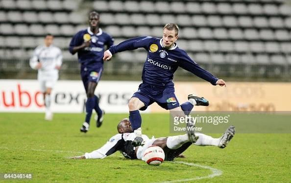 Sylvain MACE / Jean NIANG Paris FC / Pau National 21e journee Photo Dave Winter/Icon Sport