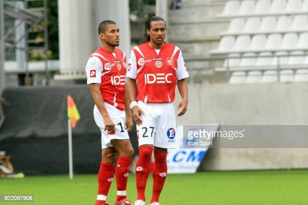 Sylvain N'DIAYE / Steve MARLET Reims / UNFP Match amical