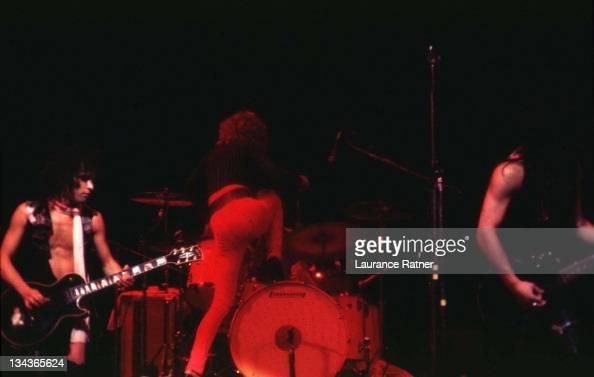 Sylvain Sylvain David Johansen and Johnny Thunders of the New York Dolls 1973
