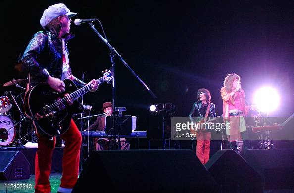 Sylvain Sylvain during The New York Dolls Reunited Tour September 25 2004 at Zepp Tokyo in Tokyo Japan