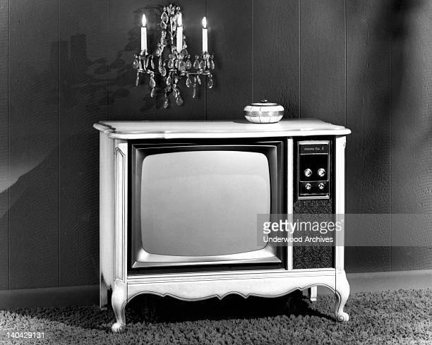 Sylvania Electric Products introduces its 1970 color television line with Instant Color pictures and new chairside remote pushbutton tuning New York...