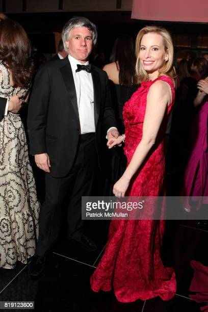 Sylvester Miniter and Gillian Miniter attend THE SCHOOL OF AMERICAN BALLET Winter Ball 2010 at David H Koch Theater on March 1 2010 in New York City