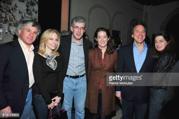 Sylvester Miniter Gillian Miniter Michael Rockefeller Tara Rockefeller Will Zeckendorf and Laura Zeckendorf attend 'BURGUNDY BORDEAUX BLUE JEANS...