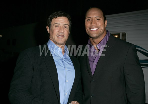 Sylvester Stallone and Dwayne The...