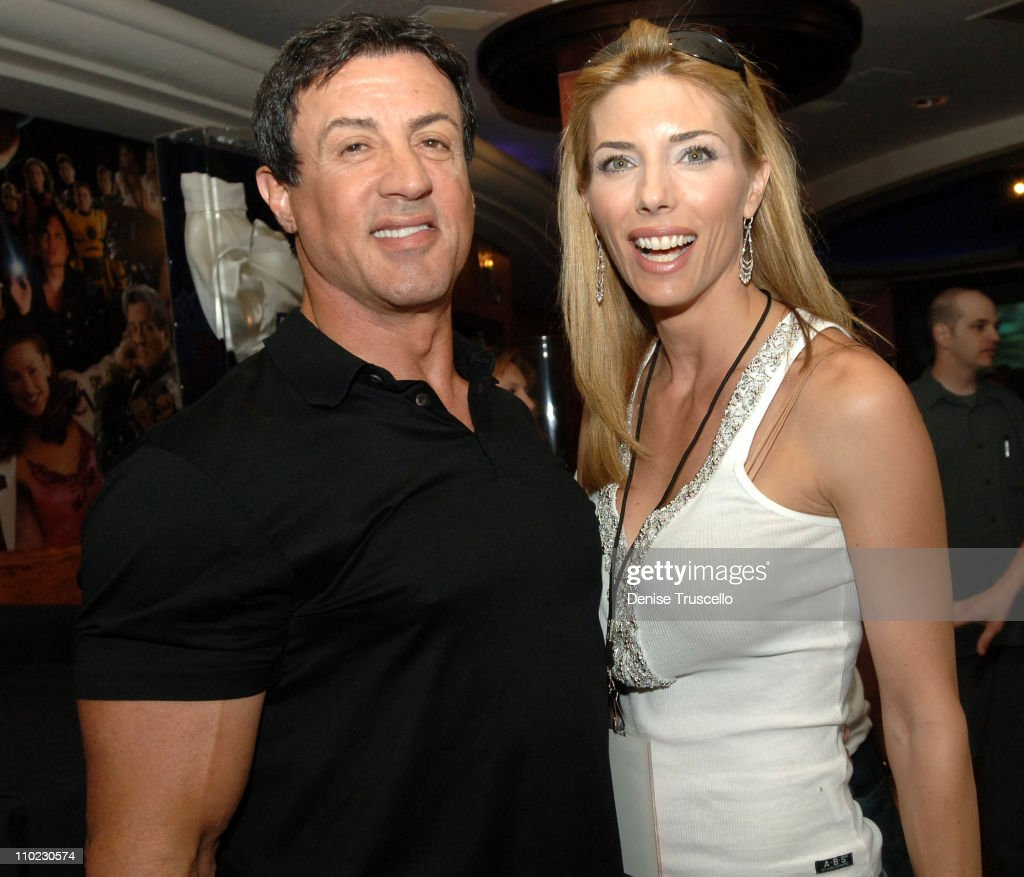 """Sylvester Stallone Signs His Book """"Sly Moves"""" at Planet Hollywood in Las Vegas"""