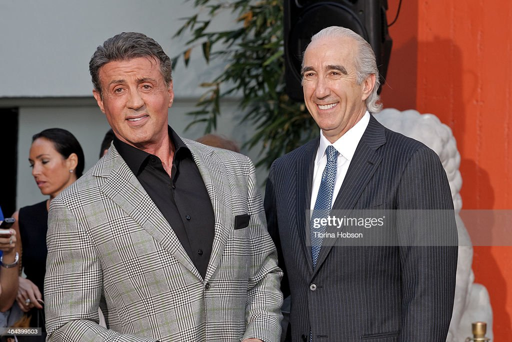 <a gi-track='captionPersonalityLinkClicked' href=/galleries/search?phrase=Sylvester+Stallone&family=editorial&specificpeople=202604 ng-click='$event.stopPropagation()'>Sylvester Stallone</a> and MGM Chairman, CEO <a gi-track='captionPersonalityLinkClicked' href=/galleries/search?phrase=Gary+Barber&family=editorial&specificpeople=683141 ng-click='$event.stopPropagation()'>Gary Barber</a> attend the Metro-Goldwyn-Mayer kicks off 90th Anniversary celebration held at TCL Chinese Theatre on January 22, 2014 in Hollywood, California.