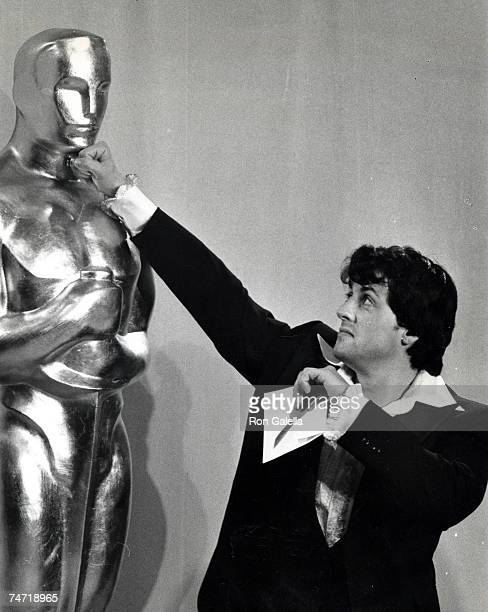 Sylvester Stallone at the Dorothy Chandler Pavillion in Los Angeles California