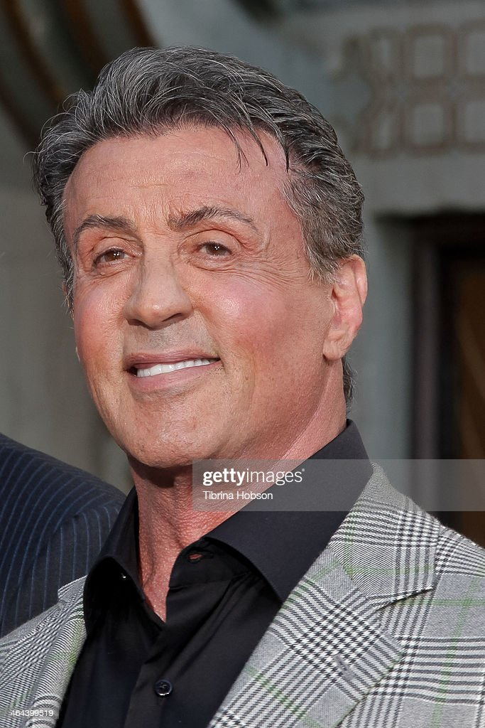 <a gi-track='captionPersonalityLinkClicked' href=/galleries/search?phrase=Sylvester+Stallone&family=editorial&specificpeople=202604 ng-click='$event.stopPropagation()'>Sylvester Stallone</a> attends the Metro-Goldwyn-Mayer kicks off 90th Anniversary celebration held at TCL Chinese Theatre on January 22, 2014 in Hollywood, California.