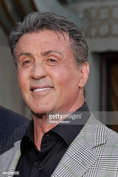 Sylvester Stallone attends the MetroGoldwynMayer kicks off 90th Anniversary celebration held at TCL Chinese Theatre on January 22 2014 in Hollywood...