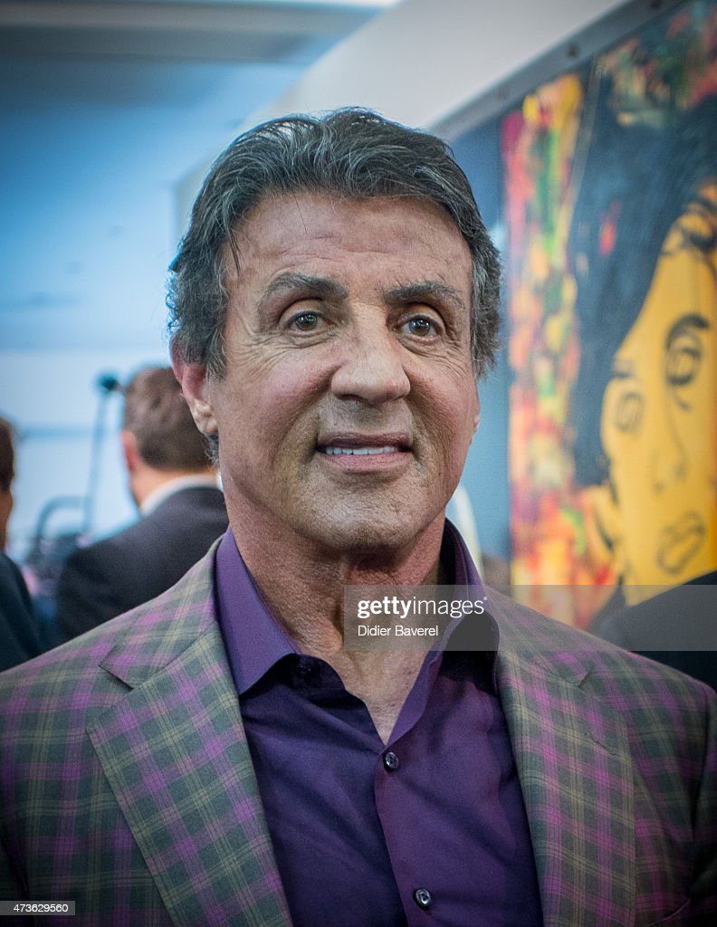 Sylvester Stallone attends the opening of his art exhibition entitled ...